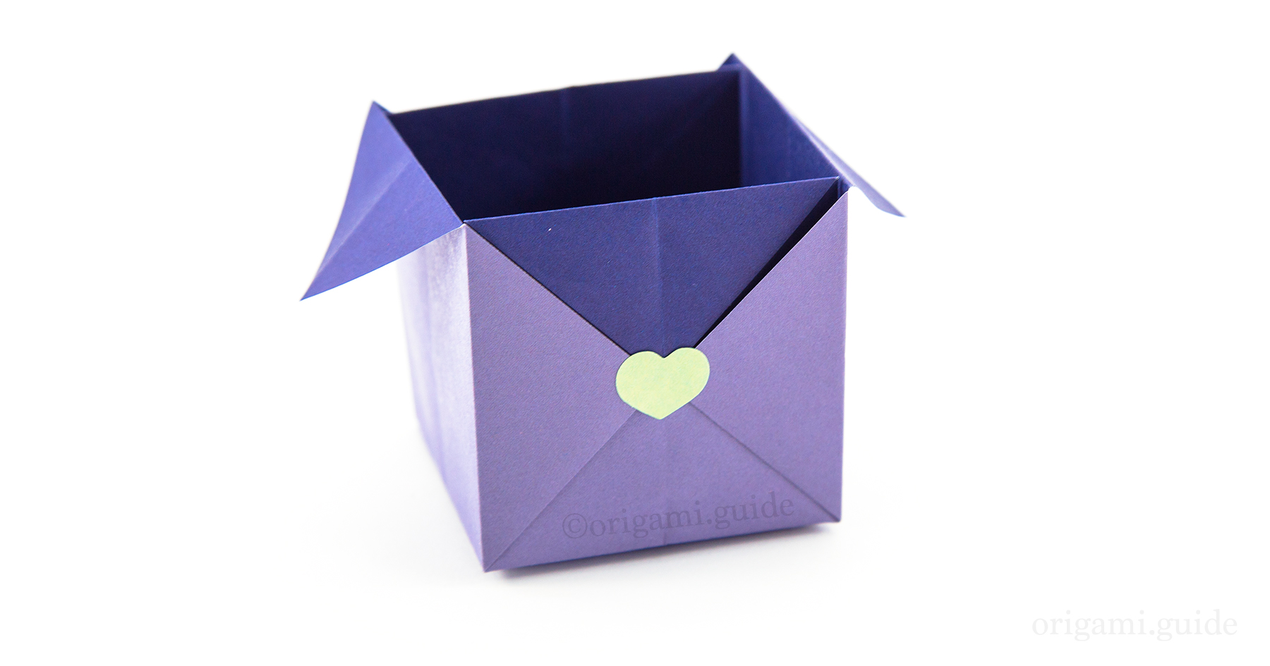 How To Make An Easy Origami Packaging Box | Origami Guide ... - photo#47