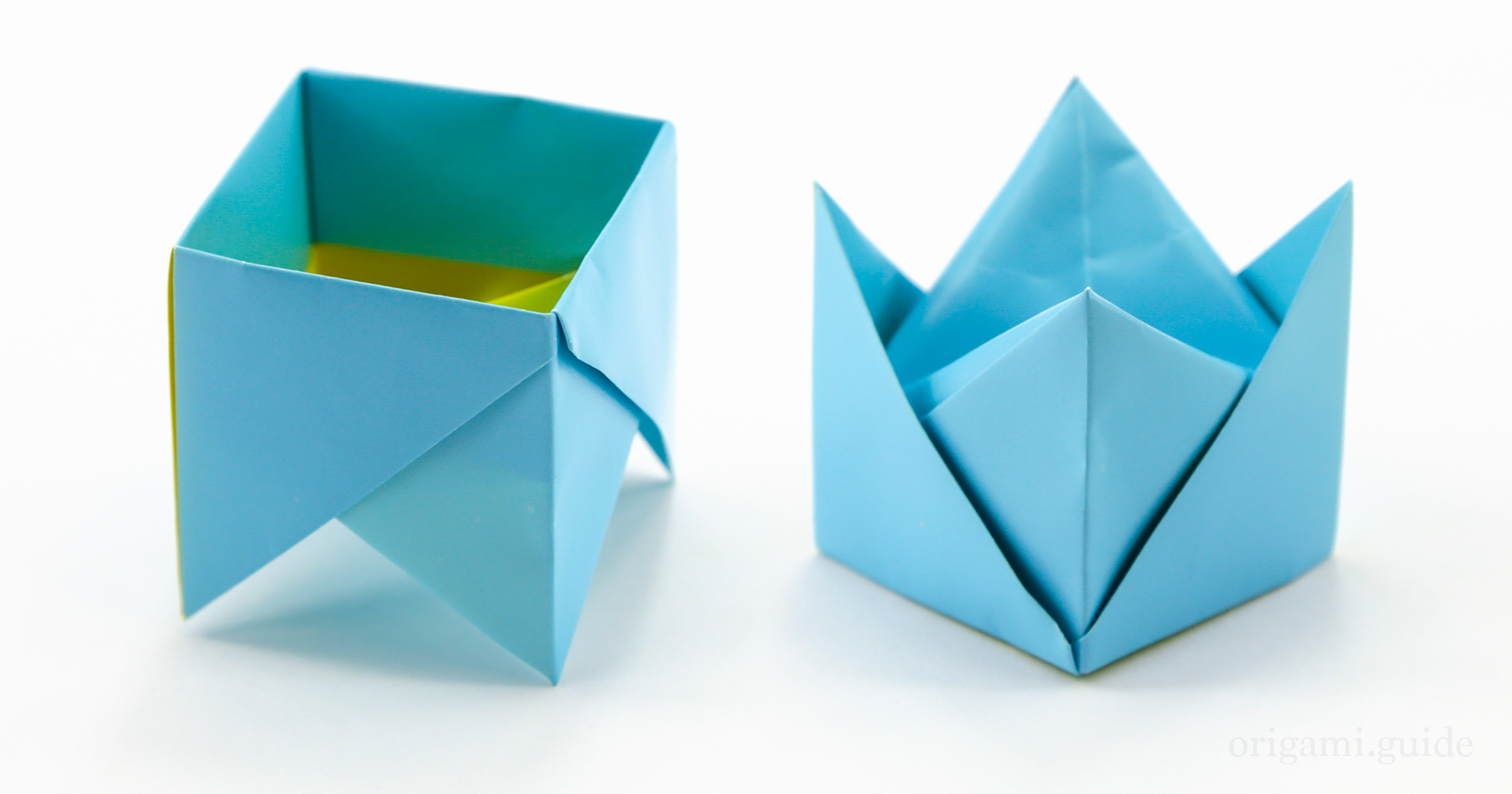How To Make An Origami Fancy Box | Origami Guide - photo#3