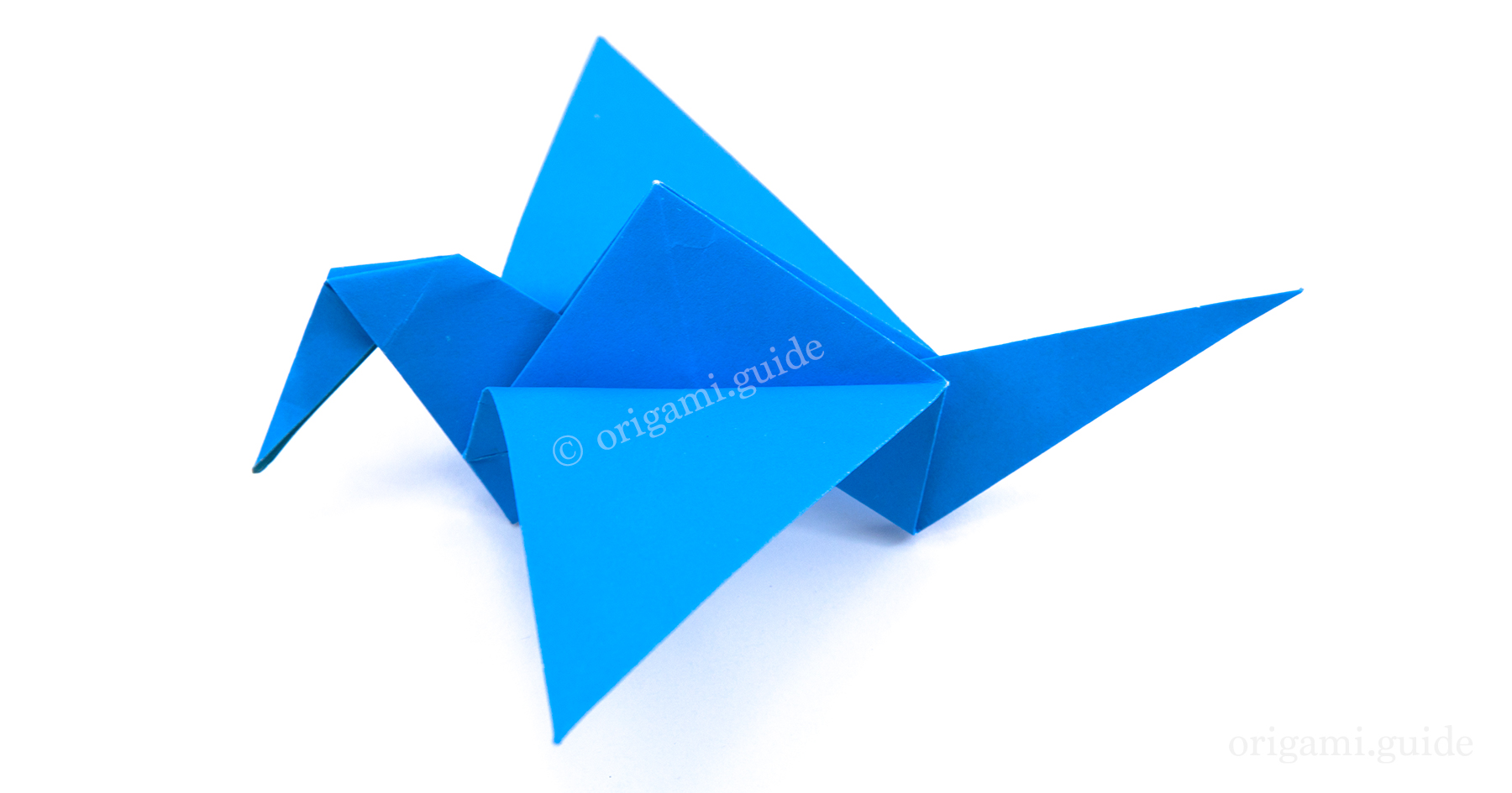 How To Make An Origami Flapping Bird | Origami Guide - photo#30