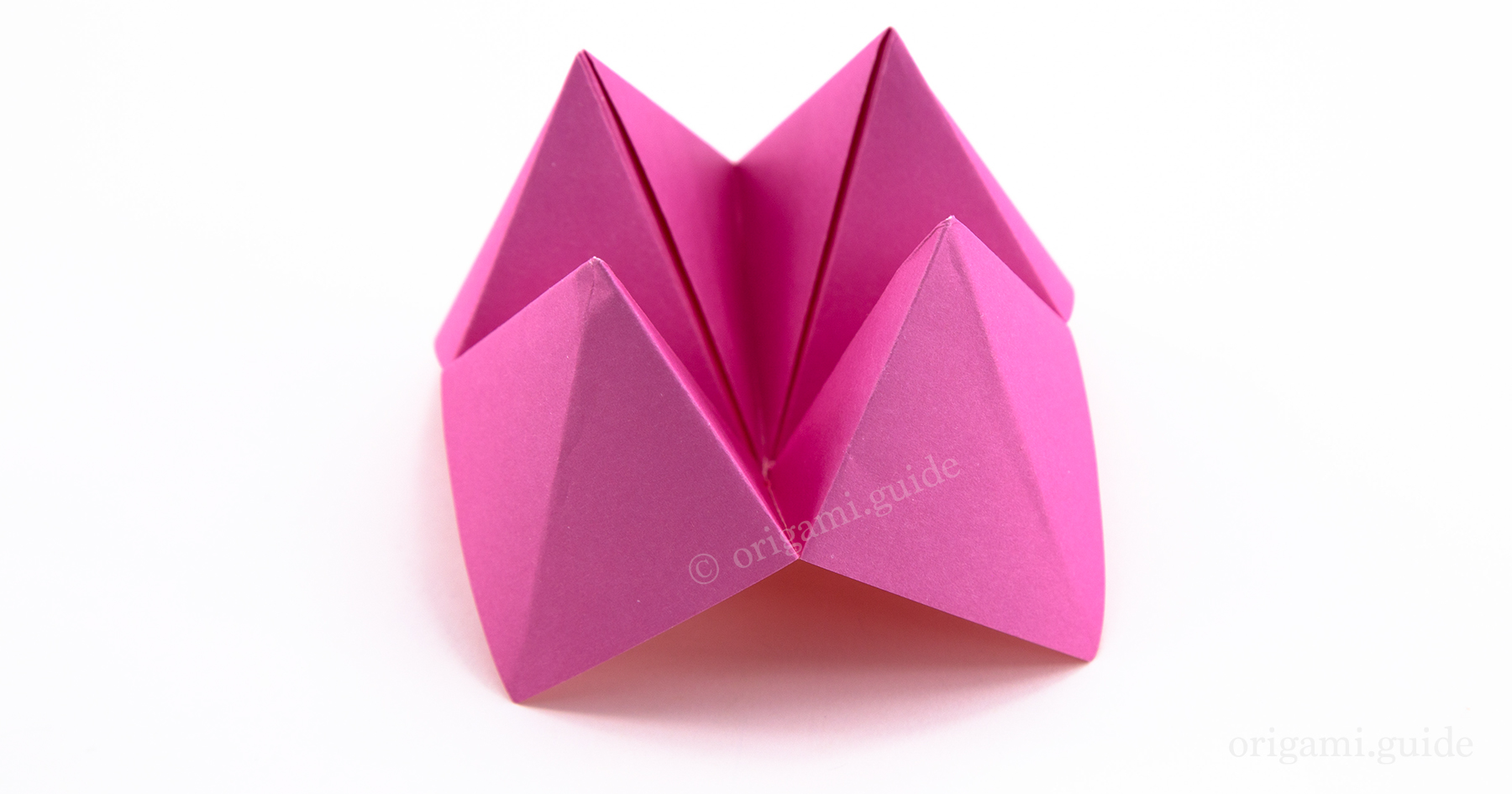 How To Make An Origami Fortune Teller | Origami Guide - Part 3 - photo#9
