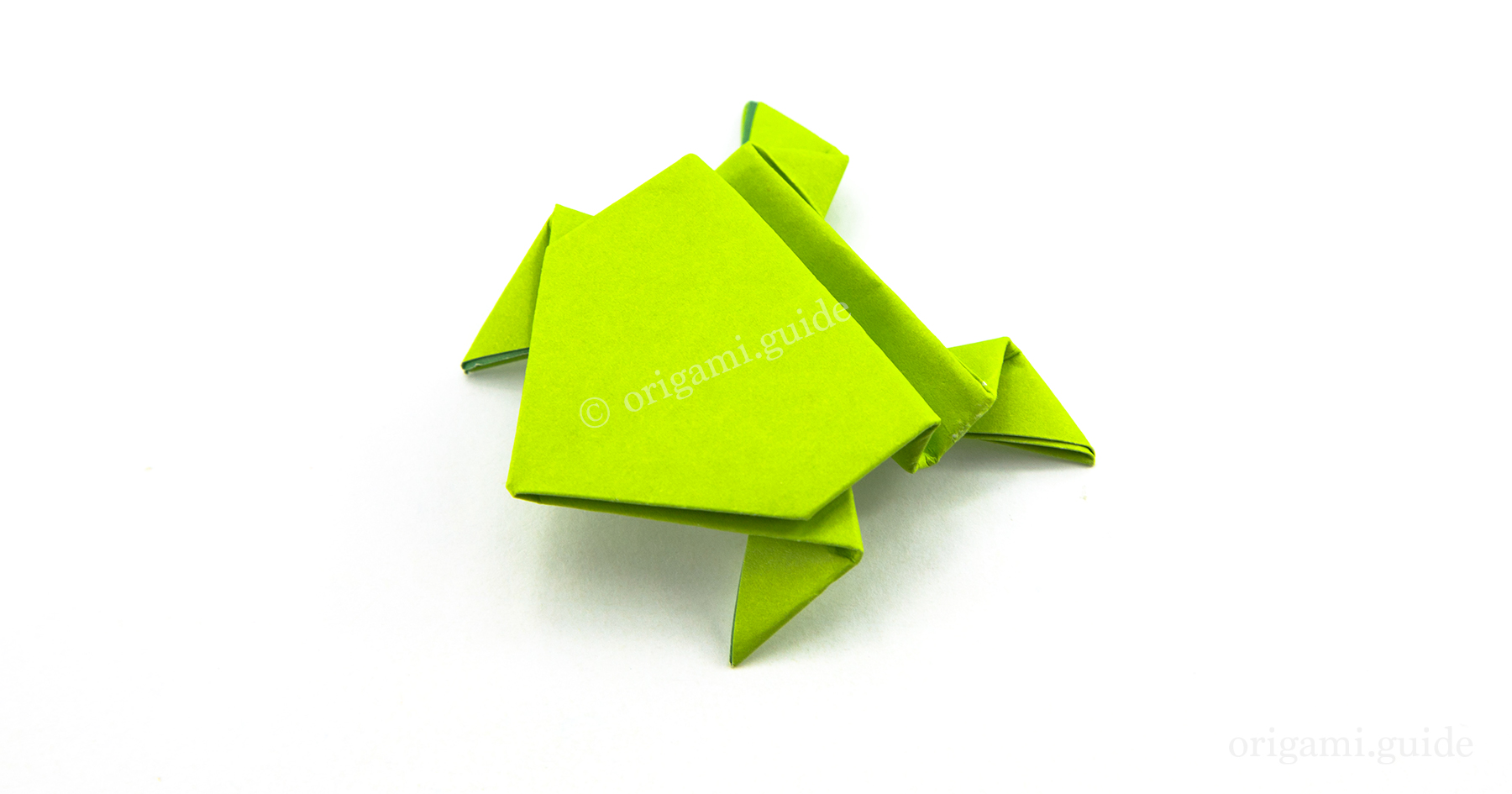 How To Make An Origami Jumping Frog | Origami Guide - Part 3 - photo#11