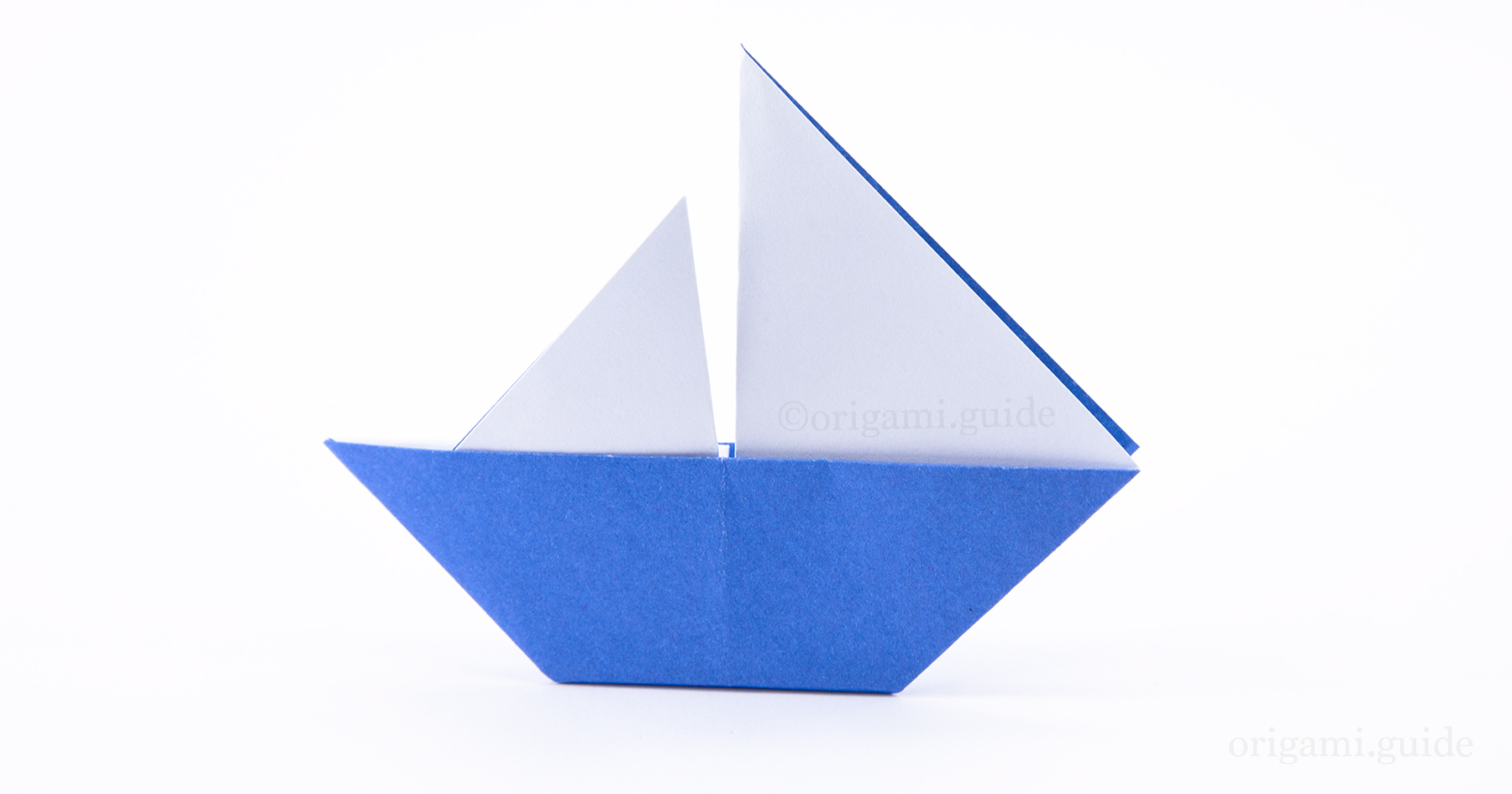 how to make an origami sail boat origami guide