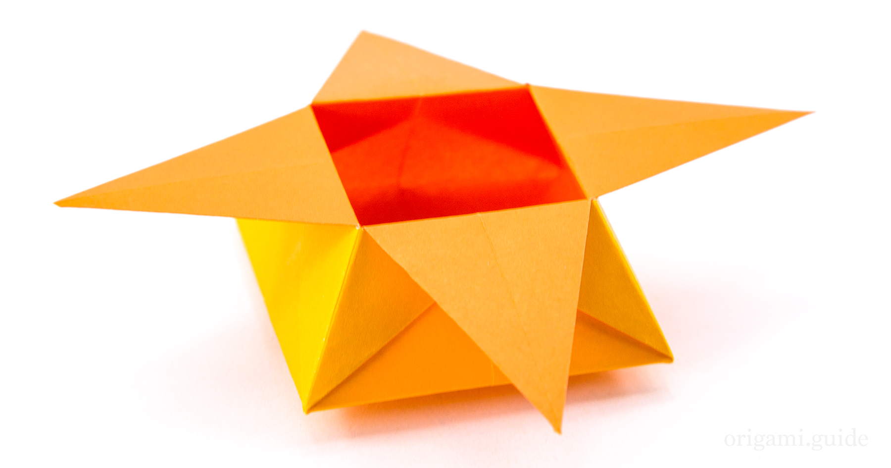 how to make an origami star box origami guide